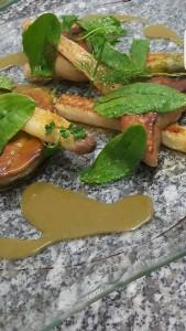 Asperges foie gras